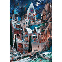 Пазл Heye, 2000 элементов - Замок ужаса, Loup