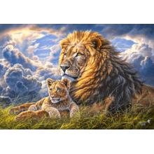 Пазл Castorland, 1000 элементов - Львы: отец и сын