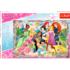 Пазл Trefl, 260 элементов - Все принцессы вместе,Disney