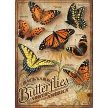 Пазл Cobble Hill, 500 элементов - Садовые бабочки