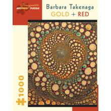Пазл Pomegranate, 1000 элементов - Барбара Такенага: Золотой + красный