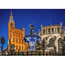 Пазл Castorland, 500 элементов - Гданьск, фонтан Нептуна