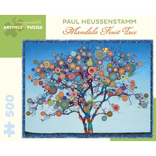 Пазл Pomegranate, 500 элементов - Пол Хойсенштамм: Мандала Фруктовое Дерево