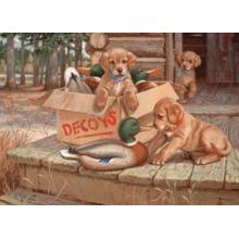 Пазл Cobble Hill, 1000 элементов - Собачьи приманки