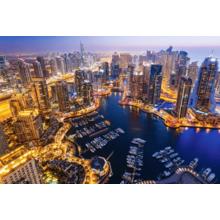 Пазл Castorland, 1000 элементов - Дубай ночью
