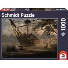 Пазл Schmidt, 1000 элементов - Корабль на пристани