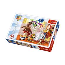 Пазл Trefl, 30 элементов - Готовы играть, Toy Story