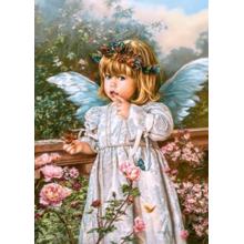 Пазл Castorland, 180 элементов - Ангел с бабочкой