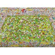 Пазл Clementoni, 1000 элементов - Mordillo: На футболе
