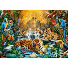 Пазл Clementoni, 1000 элементов - Тигры