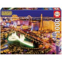 Пазл Educa, 1000 элементов - Неоновый Лас-Вегас