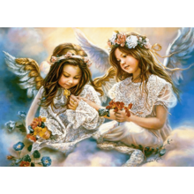 Пазл Castorland, 180 элементов - Два ангела