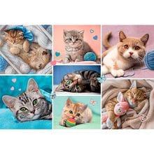 Пазл Trefl, 100 элементов - Мир кошек