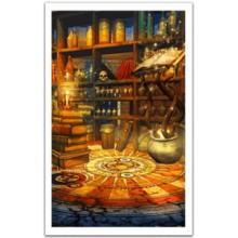 Пазл Pintoo, 1000 элементов - Фэнтези, Магическая комната