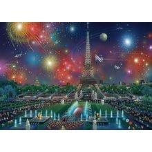 Пазл Schmidt, 1000 элементов - А.Чен Фейерверк над Эйфелевой башней