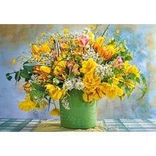 Пазл Castorland, 1000 элементов - Желтые тюльпаны