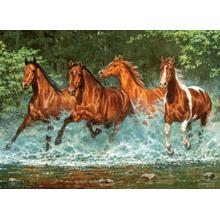Пазл Castorland, 300 деталей - Лошади,бегущие по воде