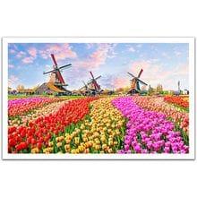 Пазл Pintoo, 1000 элементов - Ветряные мельницы. Нидерланды