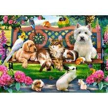 Пазл Castorland, 180 элементов - Домашние животные в парке