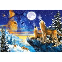 Пазл Castorland, 1000 элементов - Волки