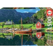 Пазл Educa, 1500 элементов - Корабль викингов