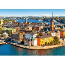 Пазл Castorland, 500 элементов - Старый город Стокгольма, Швеция