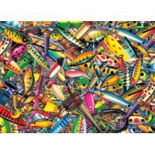 Пазл Cobble Hill, 1000 элементов - Заманчивые воблеры