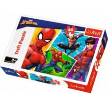 Пазл Trefl, 30 элементов - Человек-паук и Мигель
