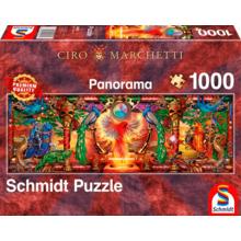 Пазл Schmidt, 1000 элементов - Сиро Маркетти: Королевство жар-птиц
