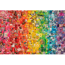 Пазл Cobble Hill, 2000 элементов - Радуга