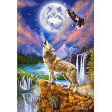 Пазл Castorland 1500 элементов - Волчья ночь