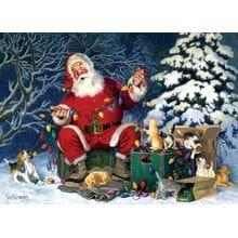 Пазл Cobble Hill, 500 элементов - Tom Newsom: Помощники Санта-Клауса