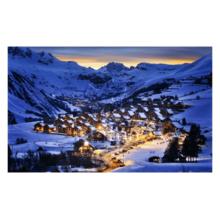 Пазл Pintoo, 1000 элементов - Городок в зимних Альпах