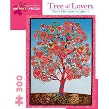 Пазл Pomegranate, 300 элементов - Поль Хойссенштамм: Дерево влюбленных