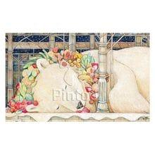 Пазл Pintoo, 1000 элементов - Спокойной ночи, белый медведь
