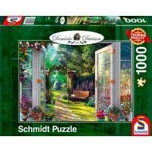 Пазл Schmidt, 1000 элементов - Д.Дэвисон. Зачарованный сад