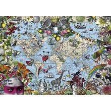 Пазл Heye, 2000 элементов - Причудливый мир