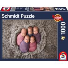 Пазл Schmidt, 1000 элементов - Младенцы