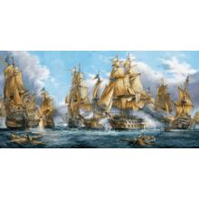 Пазл Castorland, 4000 элементов - Морской бой