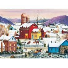 Пазл Cobble Hill, 1000 элементов - Соседи зимой