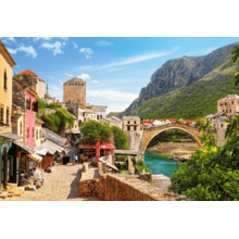 Пазл Castorland, 1500 элементов - Старый город Мостар