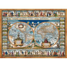 Пазл Castorland, 2000 элементов - Карта мира, 1639