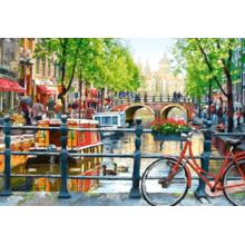 Пазл Castorland, 1000 элементов - Пейзаж, Амстердам