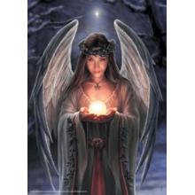 Пазл Adex, 1000 элементов - Anne Stokes: Ангел Рождества