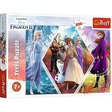 Пазл Trefl, 200 элементов - Сестры, Frozen 2
