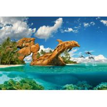 Пазл Castorland, 1000 элементов - Дельфиний рай