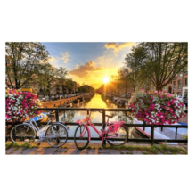 Пазл Pintoo, 1000 элементов - Восход в Амстердаме