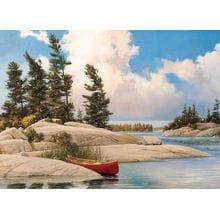 Пазл Cobble Hill, 500 элементов - Douglas Laird: День на озере