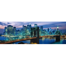 Пазл Clementoni, 1000 элементов - Бруклинский мост. Нью-Йорк