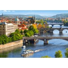 Пазл Castorland, 500 элементов - Мосты Праги